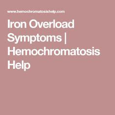 Iron Detox Symptoms by How To Get Rid Of Excess Iron In The Human