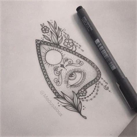 planchette tattoo planchette medusa lou artist medusa lou