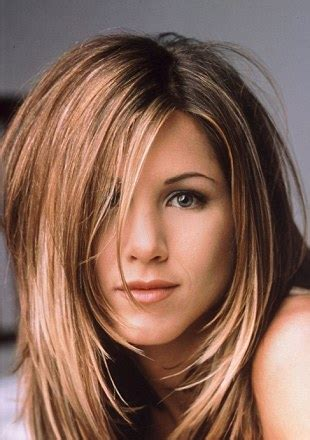 modern rachel hairstyle jennifer aniston s iconic hairstyles tracked over the