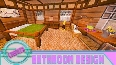 minecraft modded house bedroom design tutorial