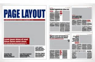 Scribus Newspaper Template by Best Photos Of La Times Newspaper Article Layout
