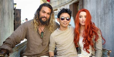actress in aquaman 2018 aquaman star director get hyped to start the press tour