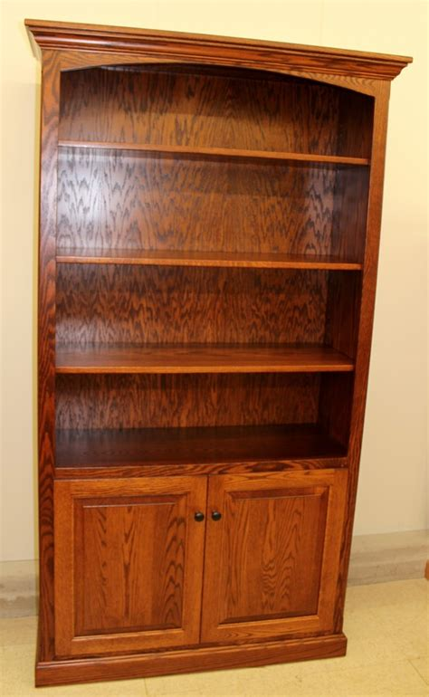 Wide Bookcase With Doors 6 1 2 Deluxe Traditional Bookcase With Doors 43 1 2