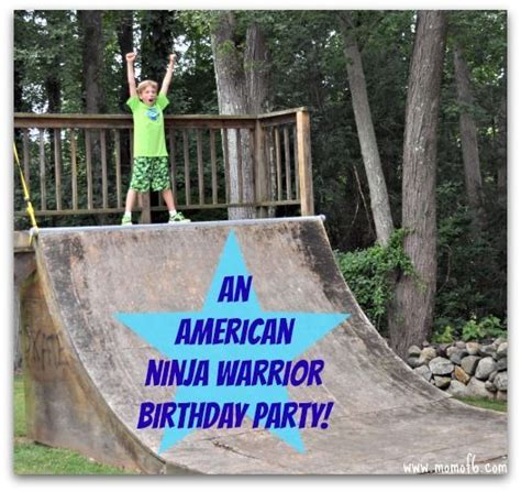 american warrior birthday kid home and we