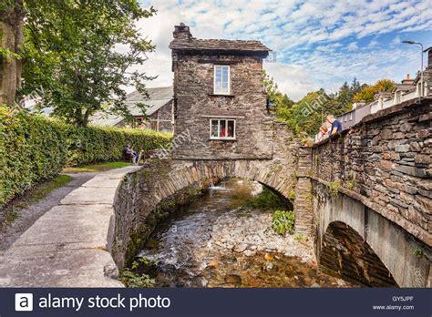 houses to buy cumbria bridge house ambleside lake district national park cumbria stock photo royalty