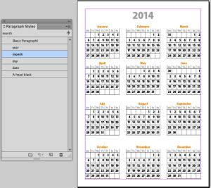 2017 Calendar Template Indesign Calendar Indesign Calendar Template 2017