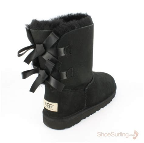 boots with bows ugg 174 australia bailey bow black kid s boot shoesurfing