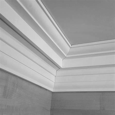 Ceiling With Cornice Grand Georgian Plaster Coving Ceiling 145mm X Wall 170mm