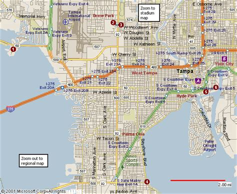 service ta fl city map of ta florida map usa map images