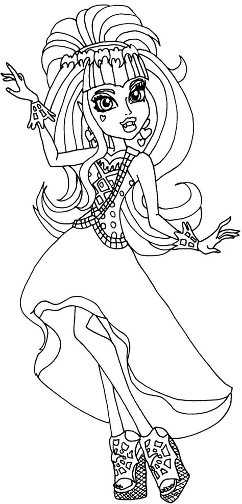 monster high coloring pages online 180 best images about drawings and coloring pages and more