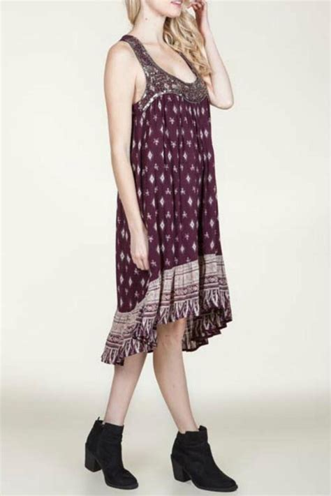 Printed Day Dresses by En Creme Printed Day Dress From New Jersey By