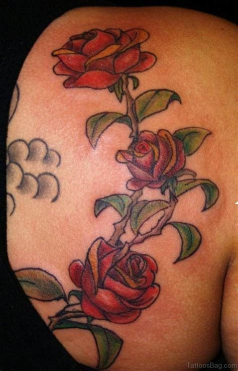 elegant flower tattoo designs 68 vine shoulder designs