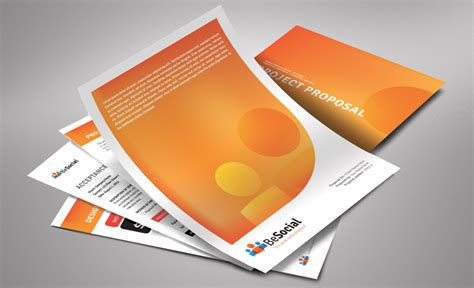 document design and layout 4dprime stationery