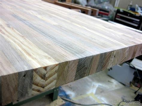 how to build a butcher block counter reality daydream
