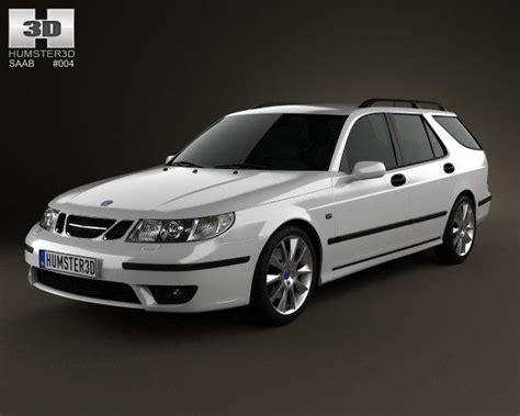 saab 95 aero wagon 2005 3d cars