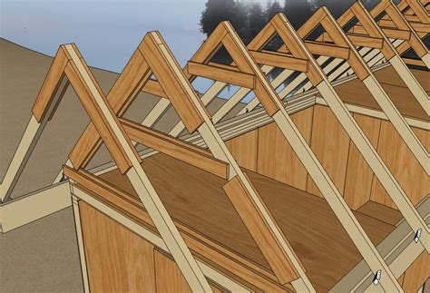 house trusses design roof truss detail architecture houses cottages pinterest