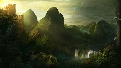 fantasy wallpaper fantasy landscape wallpapers wallpaper cave