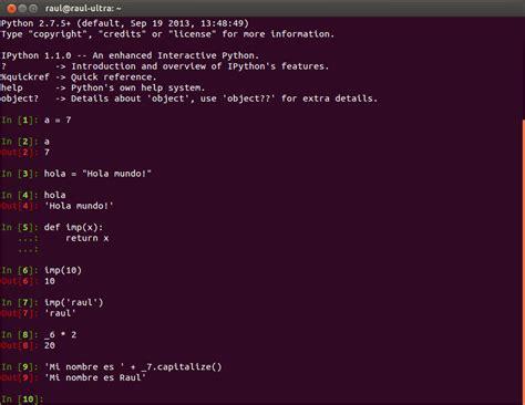 ipython y la computaci 243 n interactiva raul e briega
