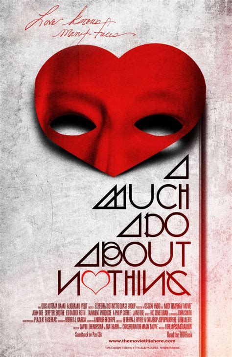 How Much Are Covers by Alternative Poster For Much Ado About Nothing By