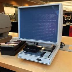 Chevrolet Microfiche The Strange History Of Microfilm Which Will Be With Us