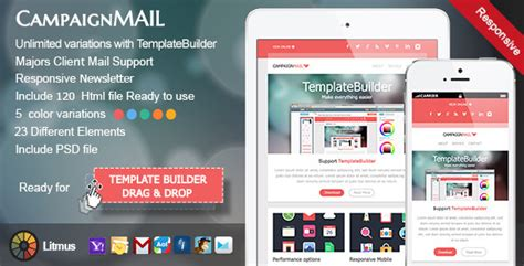 free mailchimp responsive templates 60 best free and premium email newsletter templates