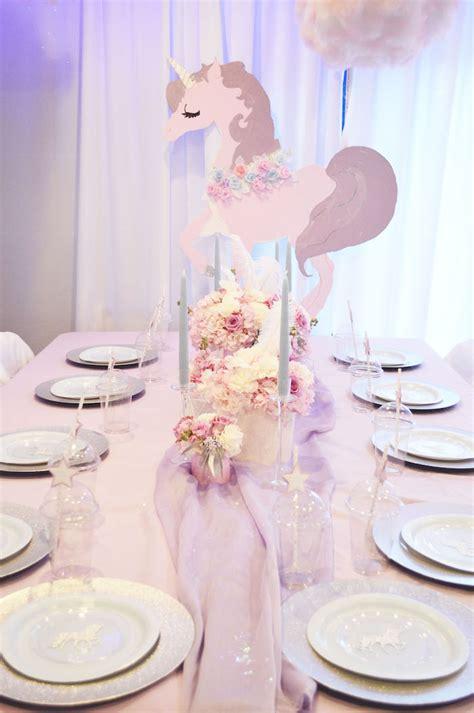 Kara s party ideas elegant pastel unicorn soiree kara s party ideas