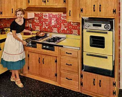 1950s kitchen diy creating character with vintage wall ovens soulful abode