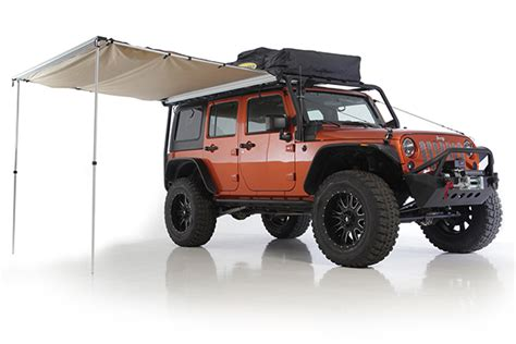 jeep wrangler awning jeep overlander awning by smittybilt ultimate jeep