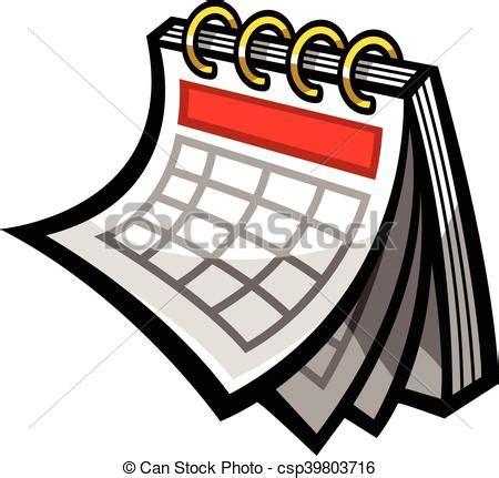 clipart calendario calendario vector horario icono