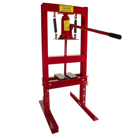 bench shop press 6 ton shop press with press plates hydraulic bottle jack