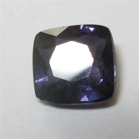 Cincin Purple Spinel Memo batu permata spinel blue 1 35 carat