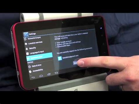 reset kyros android tablet soft reset android tablet ics 4 03 ainol novo 7 tornados