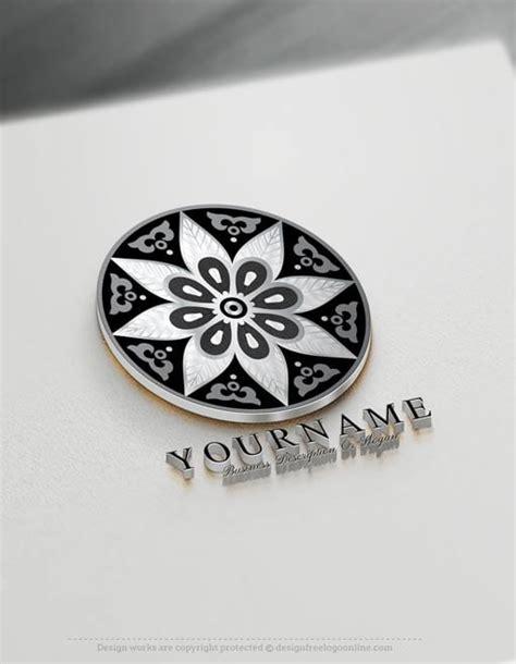 online tattoo design maker free flower mandala logo design free mandala pattern logos
