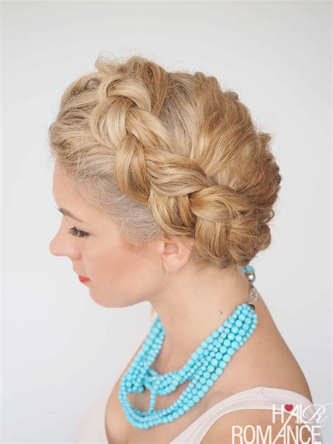 curly hairstyles plait 30 curly hairstyles in 30 days day 21 hair romance