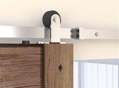 Barn Door Tracking Mount Tsq05ss Top Mount Stainless Steel Barn Door Hardware Set
