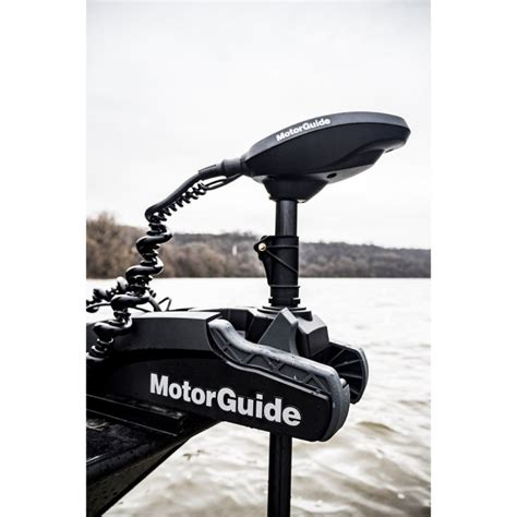 electric trolling motor with gps motorguide xi3 55 lb 12 volt 54 quot shaft with gps electric
