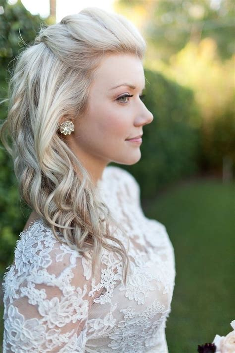 wedding hairstyles for medium length hair half up 20 pretty layered hairstyles for medium hair pretty designs