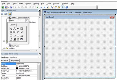 tutorial excel userform how to create new excel workbook with vba excel vba