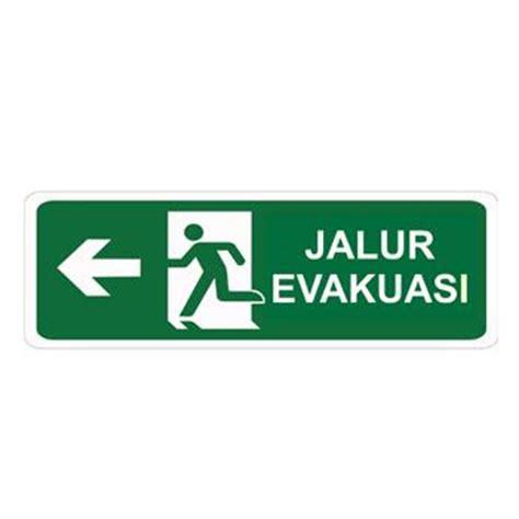 Rambu Rambu Jalur Evakuasi jual keselamatan tanda jalur evakuasi 28 images rambu k3 rambu lalu lintas dan safety sign