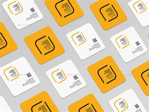 business card generator free best of square business card mockup