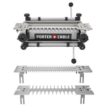 porter cable 4216 12 in deluxe dovetail jig combination kit
