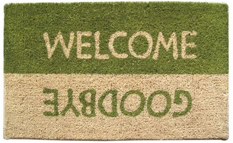 Welcome Goodbye Doormat welcome goodbye design coco mats coco mats n more