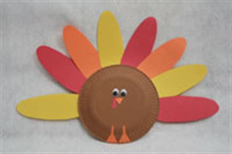 How To Make A Paper Plate Turkey - thanksgiving paper plate turkey craft all network