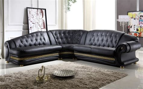 black sofa design elegant corner white leather sofa design ideas for