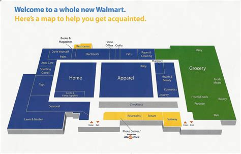 walmart store floor plan cornelius walmart store map just got back from the opening flickr