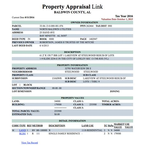 View Property Records Utility Purchased Property From Trust To Mayor