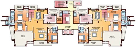 pent house plans parsvnath exotica gurgaon discuss rate review comment floor plan brochure