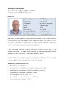 niall lawless detailed construction and engineering cv