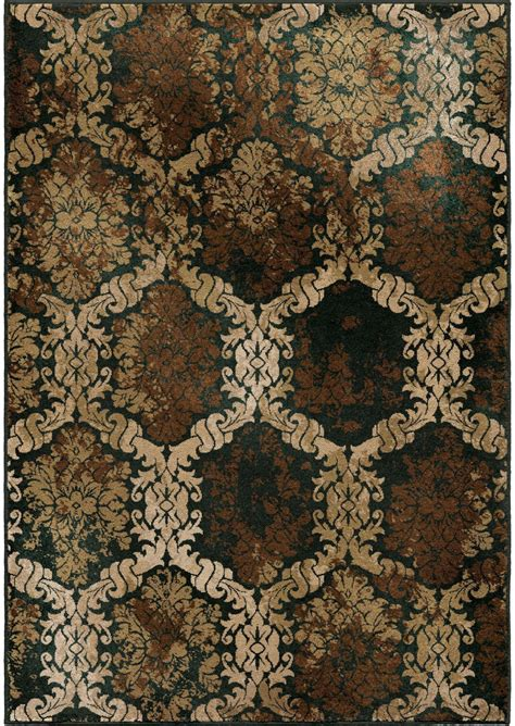 brown large rug orian rugs insanely soft medallion scrolls oxfordburst brown area large rug 3218 8x11 orian rugs