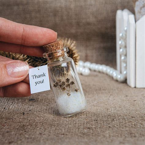 Wedding Gift Thank You by Favors Eco Wedding Favour Thank You Bottle Wedding